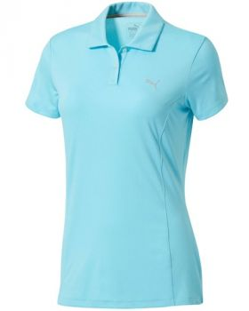 Puma Women's Pounce Golf Polo Shirt - Nrgy Turquoise