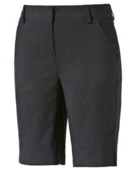 Puma Women's Pounce Golf Bermuda Shorts- Black