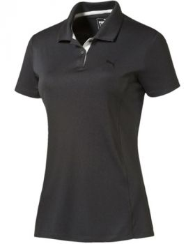 Puma Women's Pounce Golf Polo Shirt - Black