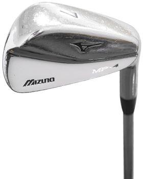 Good Condition Mizuno MP-4 Irons Set 3-PW True Temper Dynamic Gold Stiff Flex Shaft