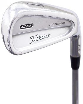 Good Condition Titleist CB 710 Forged Irons 3-PW* with True Temper Dynamic Gold Stiff Flex Shaft