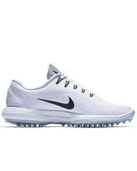 Nike Women's Lunar Control Vapor 2 Golf Shoes - White/Pure Platinum /Volt/Black