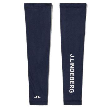 J.Lindeberg Women's Leea Golf Sleeves - Navy - FW21
