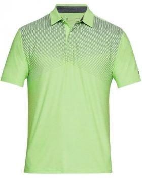 Under Armour Playoff Polo - Lumos Lime/Rhino Gray