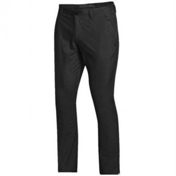 UNDER ARMOUR MENS MATCHPLAY TAPERED GOLF TROUSER - BLACK