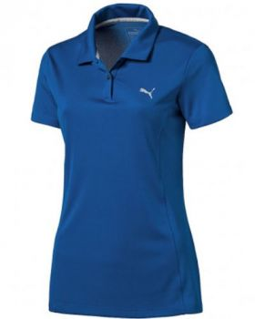 Puma Women's Pounce Golf Polo Shirt - Lapis Blue