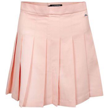 J.Lindeberg Women's Adina Golf Skirt - Pale Pink - FW21