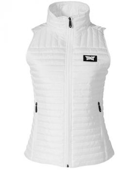 PXG Women's Puff Vest - White