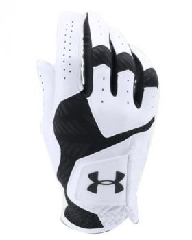 UNDER ARMOUR COOLSWITCH GOLF GLOVES LEFT HAND (FOR THE RIGHT HANDED GOLFER) - WHITE