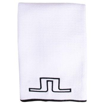 J.Lindeberg Microfibre Golf Towel - White - SS21