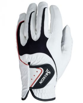SRIXON ALL WEATHER GOLF GLOVE WHITE LEFT HAND (For the Right Handed Golfer)