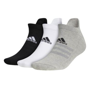 Adidas Men's Ankle Socks 3 Pairs - Grey Three