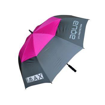 Big Max Aqua Uv Automatic Umbrella - Charcoal Fuchsia