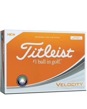 Titleist Velocity Golf Balls - Orange