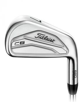 Titleist 620 CB 4-PW Irons with Project X LZ 6.0 Shaft