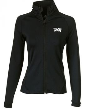 PXG Women's Peter Millar Full Zip Jacket - Black