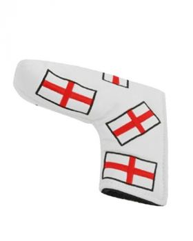 MASTERS HEADKASE FLAG PUTTER COVER - ENGLAND