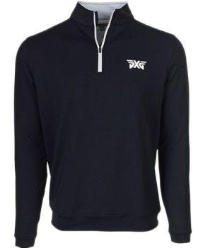PXG Peter Millar 1/4 Zip Jacket - White