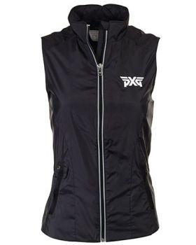 PXG Women's RLX Mockneck Vest - Black