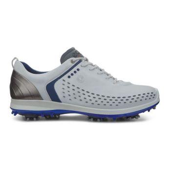 ECCO Men's Biom G2 Golf Shoes - Concrete/Royal