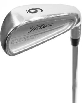 GOOD CONDITION TITLEIST CB 714 FORGED IRONS 4-PW - TRUE TEMPER DYNAMIC GOLD REGULAR  SHAFT