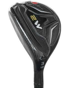 Very Good  Condition Taylormade M2 Rescue Hybrid 19* with Reax 75 Stiff Flex Shaft - Left Hand