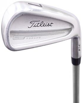 Very Good Condition Titleist CB 710 Forged Irons 4-9,PW* with KBS Tour C-Taper 125 Stiff Flex Shaft
