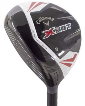 Excellent Condition Callaway X Hot 3* Fairway Wood with Project X PXV Stiff Flex Shaft - Left Hand