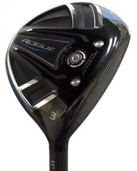 Mint Condition Callaway Rogue Wood 15* with Project X Evenflow 6.0 Stiff Flex Shaft