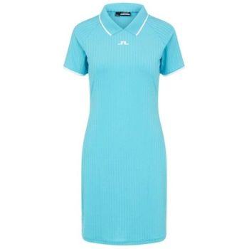 J.Lindeberg Women's April Golf Dress - Beach Blue - 2021