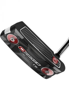 """ODYSSEY O-WORKS #1 WIDE 34"""" PUTTER WITH SUPERSTROKE PISTOL"""