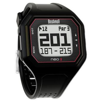Bushnell Neo X Gps Rangefinder Watch - Black