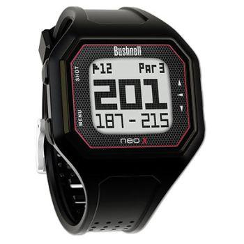 Bushnell Neo X GPS Rangefinder Watch - Black