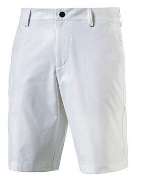 PUMA MEN'S ESSENTIAL POUNCE GOLF SHORTS - BRIGHT WHITE