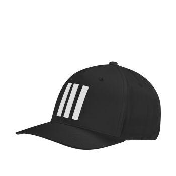 Adidas Men's Golf 3 Stripes Tour Hat - Black