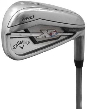 Excellent Condition Callaway Pro XR Irons 4-PW* with KBS Tour-V 110 Stiff Flex Shaft