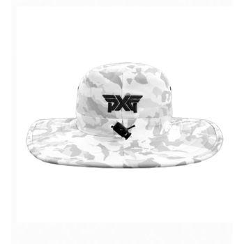PXG Fairway Collection Bush Hat - Camo White