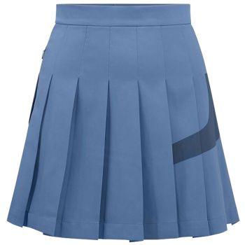J.Lindeberg Women's Naomi Bridge Golf Skirt - Captain's Blue - FW21