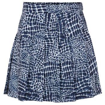 J.Lindeberg Women's Adina Printed Golf Skirt - Navy Croco - FW21