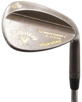 Excellent Condition Callaway Mack Daddy 2 R Design Tour Grind Wedge 56.11*