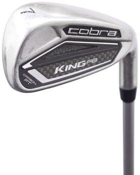 Excellent Condition Cobra King F8 Iron Set 4-P&GW* with Aldila Rogue Pro R-65 Shaft