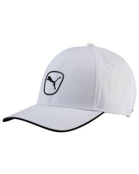PUMA TECH CAT PATCH CAP - BRIGHT WHITE