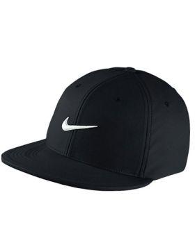 NIKE TRUE STATEMENT GOLF HAT - BLACK/WHITE