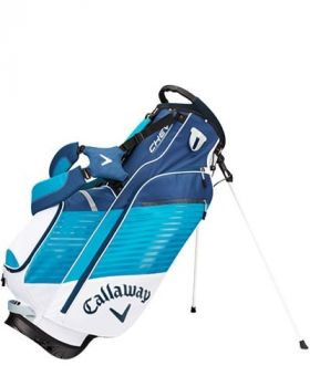 Callaway Chev Stand Bag - White/ Teal/ Navy