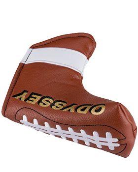 ODYSSEY GOLF SPORT HEADCOVER FOOTBALL BLADE