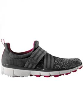 Adidas Women's Climacool Knit Golf Shoes - Gray/White/Pink