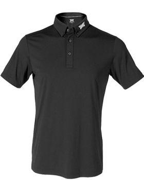 PXG Button Collar Polo - Black