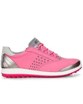 ECCO Women's Biom Hybrid 2 Golf Shoes - Fandango/Beetroot