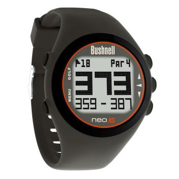 Bushnell Neo Xs Gps Rangefinder Watch - Charcoal/Orange