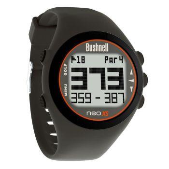 Bushnell Neo Xs GPS Rangefinder Watch - Charcoal/Orange